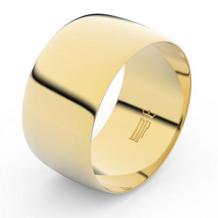 Zlatý snubní prsten FMR 9C110 ze žlutého zlata, bez kamene