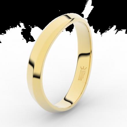 Prsten Danfil DLR3024 žluté zlato 585/1000 bez kamene povrch lesk