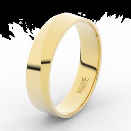Prsten Danfil DLR3035 žluté zlato 585/1000 bez kamene povrch lesk