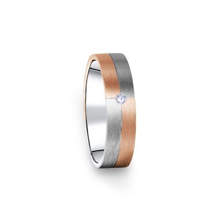 Zlatý dámský prsten DF 09/D, s briliantem