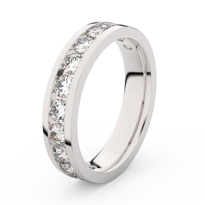 Zlatý dámský prsten Danfil DF 3895 z bílého zlata, s briliantem 69