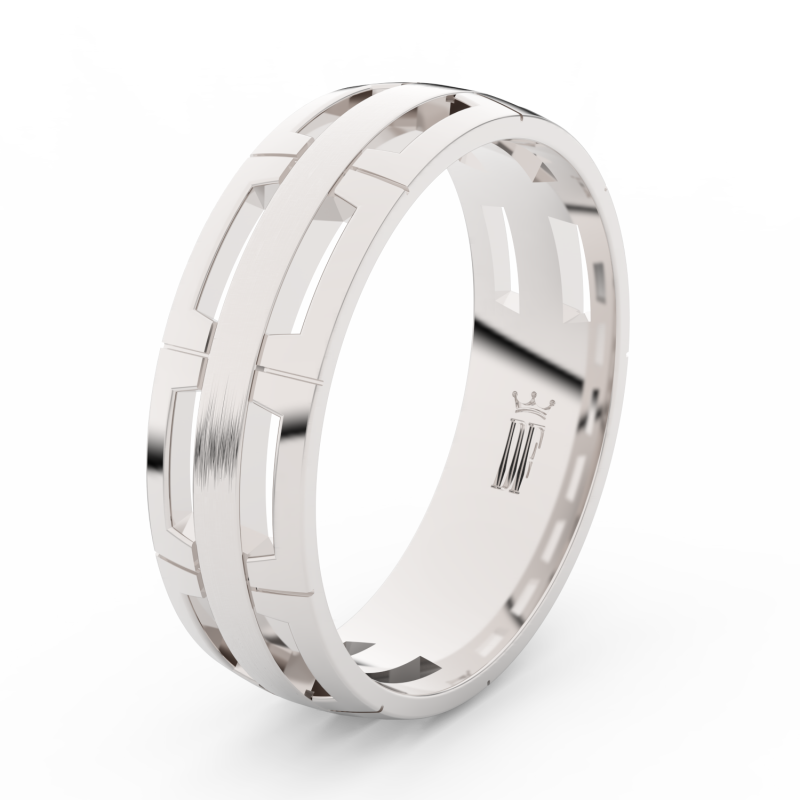 Snubni Prsteny Z Bileho Zlata Se Zirkony Par 3048 Dfprsteny Cz