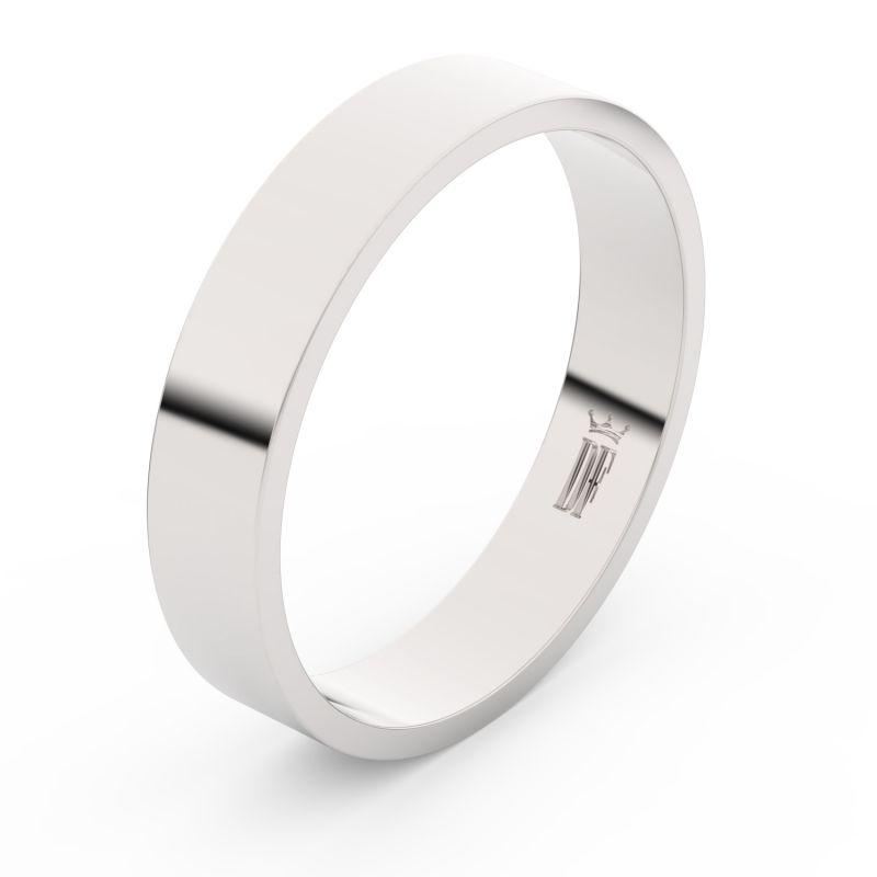 Zlatý snubní prsten Danfil FMR 1G45 z bílého zlata, bez kamene 46