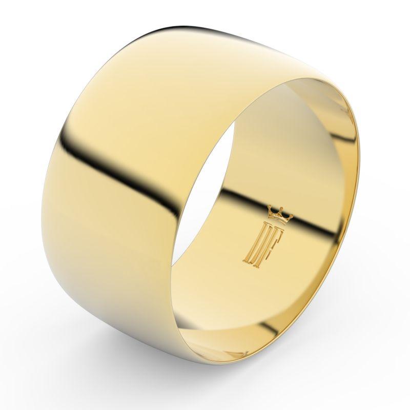 Zlaty Snubni Prsten Fmr 9c110 Ze Zluteho Zlata Bez Kamene